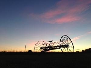 Hay Rake and Windwill pic