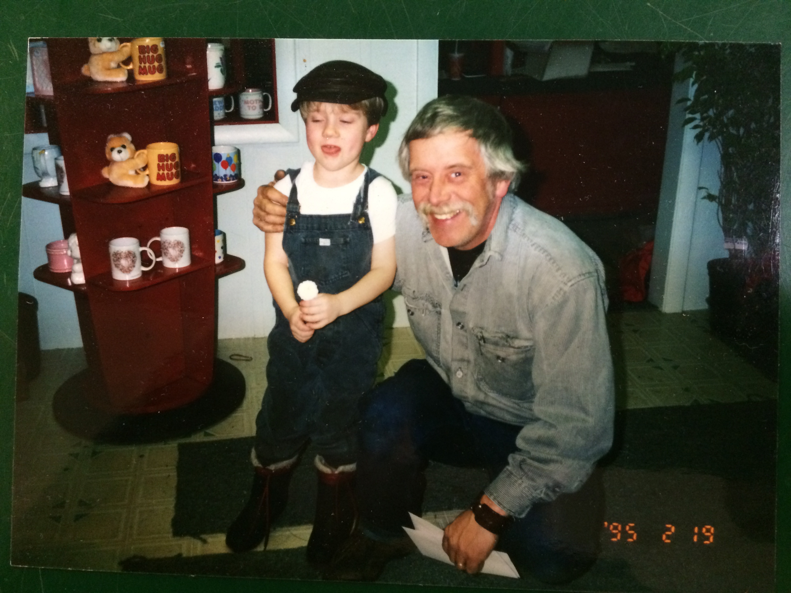 Overalls a good idea…Throwback Thursday